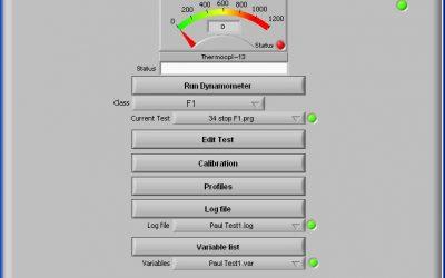 Formula 1 Caliper & Brake Test Dynamometer